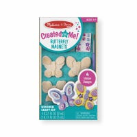 Butterfly Wooden Magnets, 4-Pk.