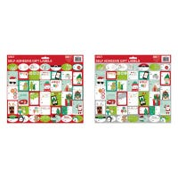 Christmas Peel & Stick Gift Labels, Whimsical, 120-Ct.
