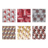 Christmas Gift Wrap, Traditional, 40-In. x 24-Ft.