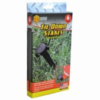 Tie Down Stakes, 6-Ct.