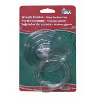 Wreath Holder, Giant Suction Cup