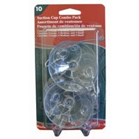 Suction Cup Combo Pack, 10-Pc.