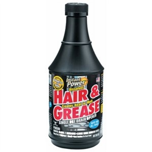 Image of Hair & Grease Drain Opener, 20-oz.