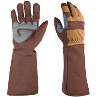 Garden Gloves, Rose Picker, Touchscreen, Men's XL