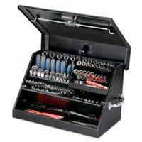 Portable Tool Box, Black, 23 x 14-In.