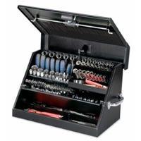 Portable Tool Box, Black, 23 x 14-In.