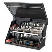 Portable Tool Box, Black, 36 x 17-In.