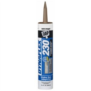 Image of 10.1-oz. Dynaflex 230 Bronze Latex Sealant