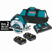X2 LXT 18-Volt Cordless Circular Saw Kit, (36V) Brushless Motor, 7-1/4-In., 4 Lithium Ion Batteries