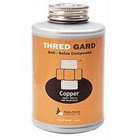 Thread Gard Anti-Seize Compound, Copper-Based,  1/4-Lb.