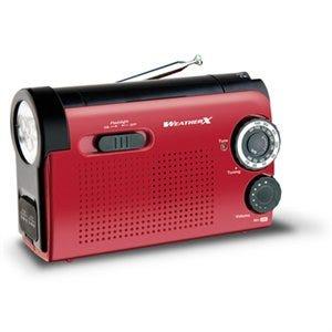 Weather Radio & LED Flashlight, AM//FM