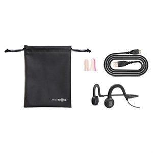 Sportz Titanium Bone-Conduction Stereo Headphones, Black