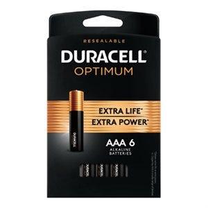 Optimum Alkaline Batteries, AAA, 6-Pk.