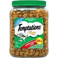 Cat Treats, Seafood Medley, 30-oz.