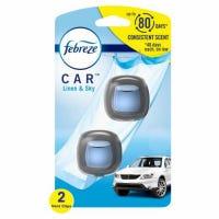 Car Vent Deodorizer Clip, Linen & Sky Scent, 2-Ct.