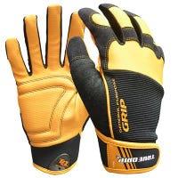 Work Gloves, Textured Palm, Touchscreen, Men's XL