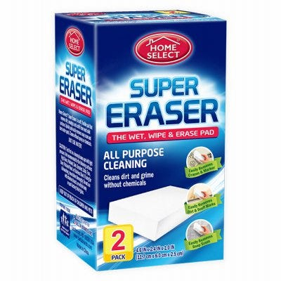 Super Eraser Disposable Cleaning Pads, 2-Pk.