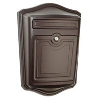 Maison Mailbox, Wall-Mount, Rubbed Bronze, 19.37 x 36.86-In.