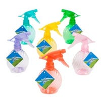 Spray Bottle, Shell Shape, Assorted Colors, 8.5-oz.