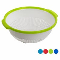 Colander, Assorted Colors, 11 x 4.5-In.