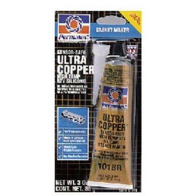 Ultra Copper® RTV Silicone Gasket Maker, 3-oz.