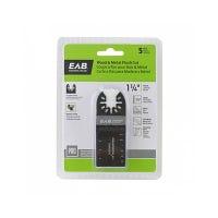Flush Cut Oscillating Tool Blade, Bi-Metal, 1-1/4-In., 5-Pk.