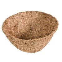 Plant Basket Liner, Coco Fiber, Round, 14-In.