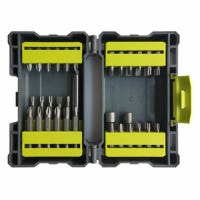 Screwdriver Bit Set, Interchangeable Bits, 42-Pc