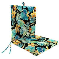 Universal Chair Cushion, Cavier Pattern, 44 x 21 x 4-In.