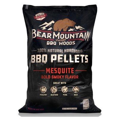 BBQ Hardwood Pellets, Mesquite, 20-Lb.