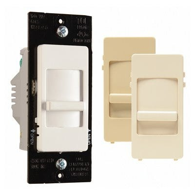 Wide Slide Dimmer, For CFL LED