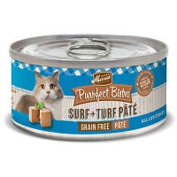 Purrfect Bistro Cat Food, Surf & Turf Pate, 5.5-oz. Can