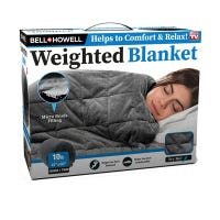 Weighted Blanket, Twin, 41 x 60-In., 10-Lbs.