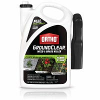 GroundClear Weed & Grass Killer, Ready-to-Use, 1-Gallon