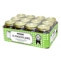 Smooth Canning Jars, Pint, 12-Pk.