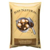 Just Natural Mushroom Compost, .75-Cu. Ft.