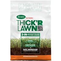 Turf Builder Thick 'R Lawn Bermuda Grass Seed & Fertilizer, 12-Lbs.
