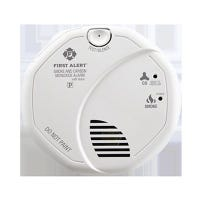Smoke & CO Alarms, Voice Alarm, Hardwired w/Battery Backup, Interconnected 6-Pk.