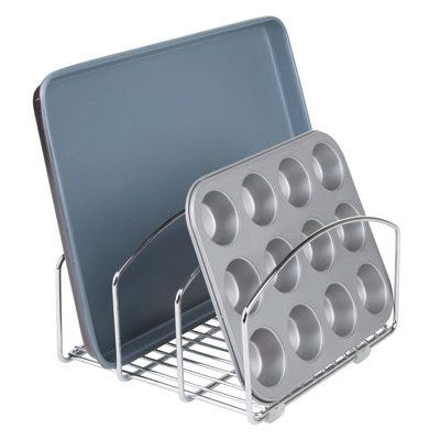 Classico Cookware Organizer, 8-In.
