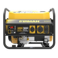 Portable Gas Generator, 4550/3650 Watts, Recoil Start, CARB Certified