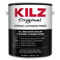 Interior & Exterior Oil Primer, Sealer & Stain Blocker, 1-Gallon