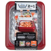Foil Pan Container, Red