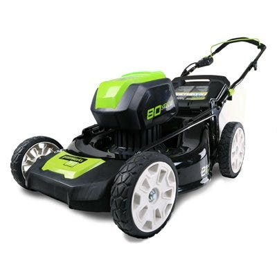 Cordless Lawn Mower, 3-N-1, Brushless Motor, Smartcut Technology, 80-Volt Battery & Charger, 21-In. Deck