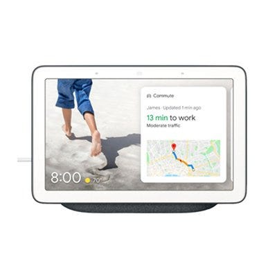 Nest Hub With Google Assistant, 7-In. Touchscreen, Charcoal