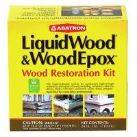 Wood Restoration Kit, Includes Epoxy & More , 24-oz.
