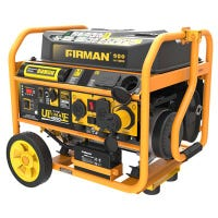 Portable Gas Generator, 4550/3650 Watts, Remote Start, CARB and cETL Certified, Wheel Kit