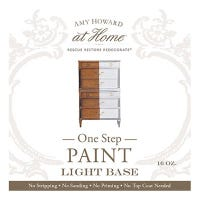 One Step Paint, Chalky Vintage Finish, Light Tint Base, 16-oz.