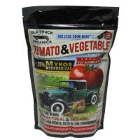 Tomato & Vegetable Organic Fertilizer, Mykos Mycorrhizae Plus Kelp & Humic Acid, 5-3-3 Formula, 2.2-Lbs.