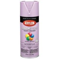 COLORmaxx Spray Paint, Soft Lilac, Matte, 12-oz.