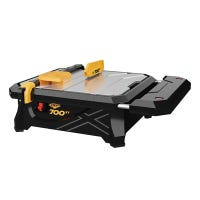 Wet Tile Saw With Table Extension, 700XT, 7-In.